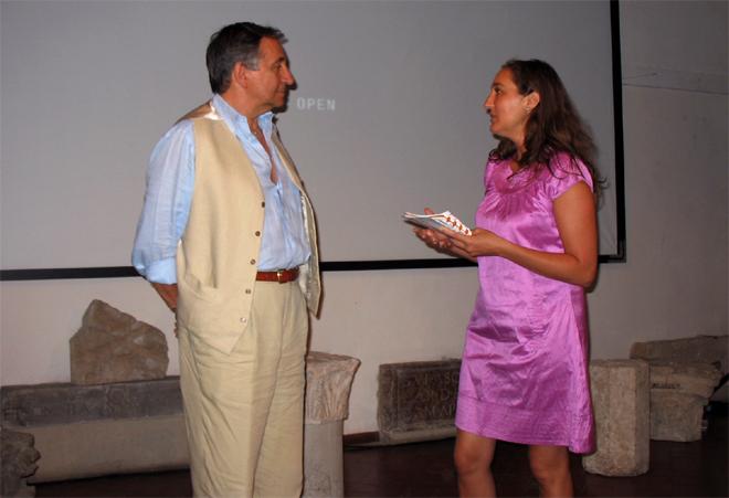 Piero Verni e Odetta Ciancarelli